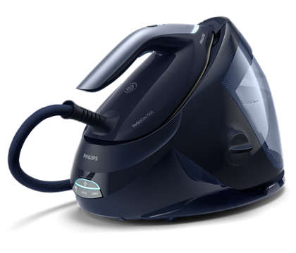 Fast ironing with automatic steam