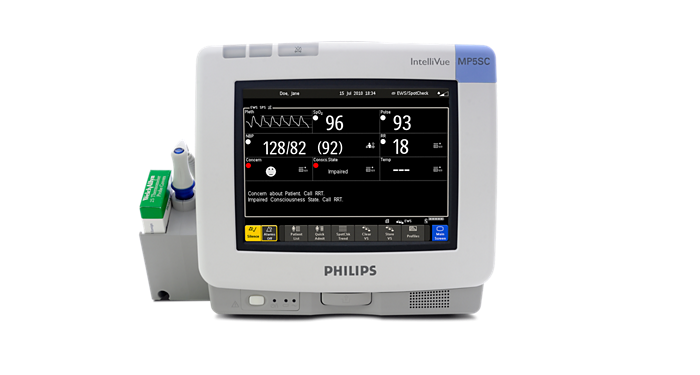 IntelliVue MP5SC Spot check patient monitor