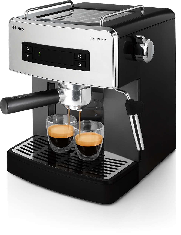Espresso manual, calea cea simplă