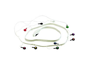 Large SV Patient Cable - 10 lead (AHA) Diagnostic ECG Patient Cables and Leads