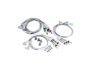 Komplettes Kabel-Set, IEC EKG-Kabel für diagnostisches EKG