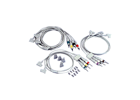 Complete lead set IEC Diagnostic ECG Patient Cables and Leads