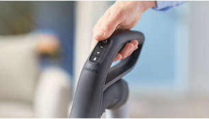 ErgoGrip con telecomando per un utilizzo senza problemi