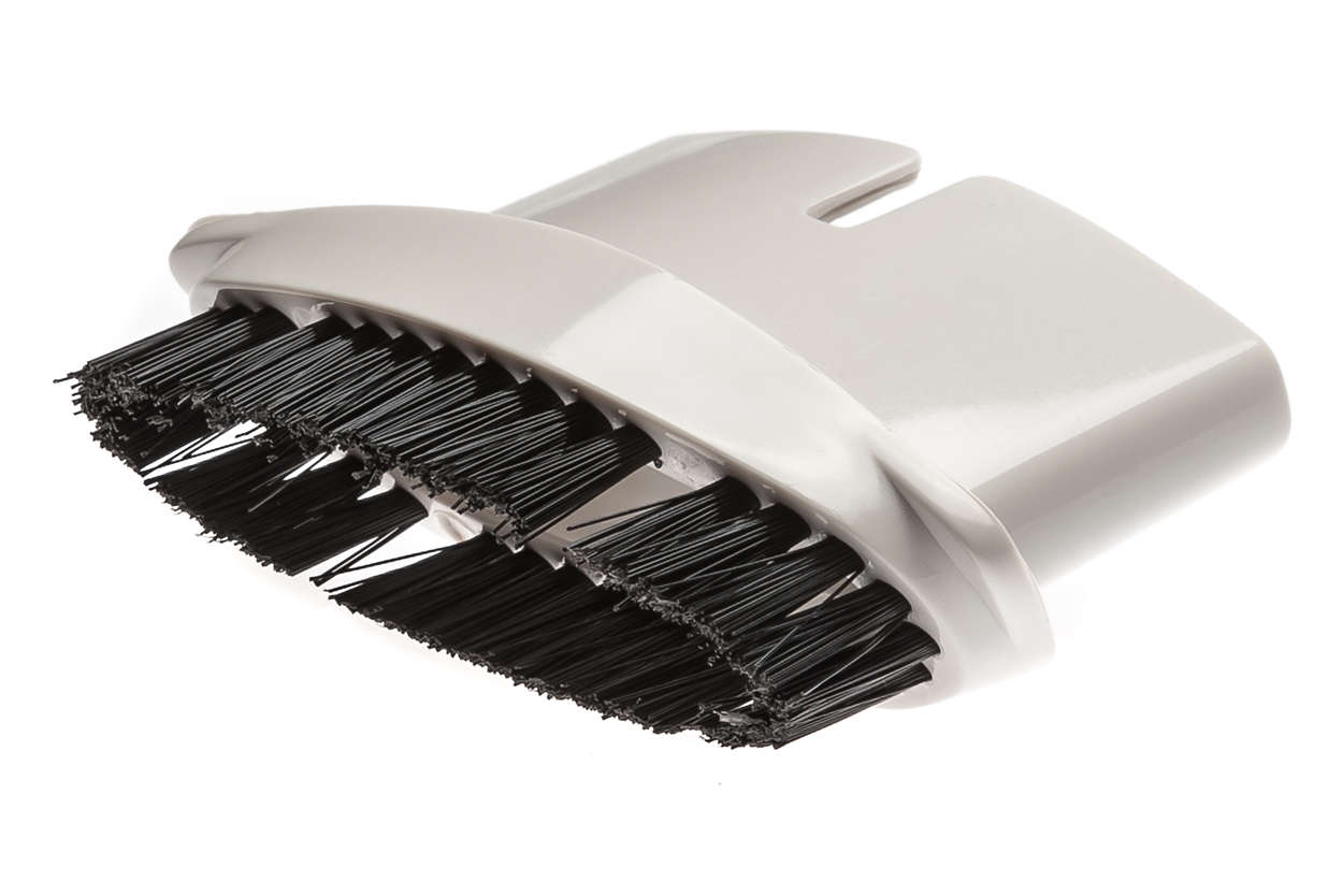 Brush tool for delicate surfaces and hair
