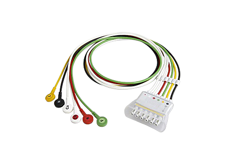 6 lead set Snap IEC Telemetry Lead Set