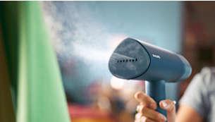 1000 W con flusso di vapore continuo fino a 20 g/min