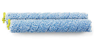 Powerful and gentle micro-fiber brushes deliver 6700 rpm