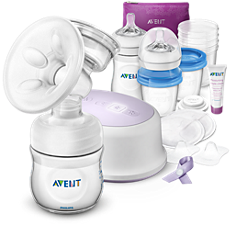 SCD292/01 Philips Avent Pump, store, feed & Care all-in-one set