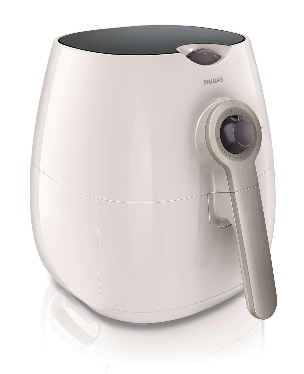 油を使わない調理家電ノンフライヤー。 新バスケットでさらに使いやすくメニューも広がる!