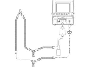 Esprit/V200 wiederverwendbares Schlauchsystem Schlauchsystem