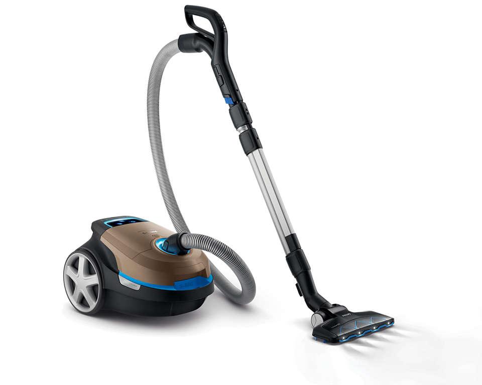 Krachtige, diepe reiniging voor alle typen vloeren