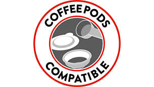 Coffee-pod compatible