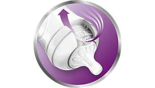 Système anti-coliques perfectionné avec double valve innovante