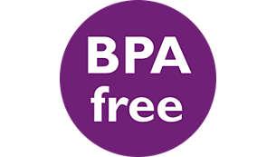 Bình được làm từ vật liệu không chứa BPA