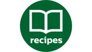 Сотні рецептів в додатку і безкоштовний буклет з рецептами