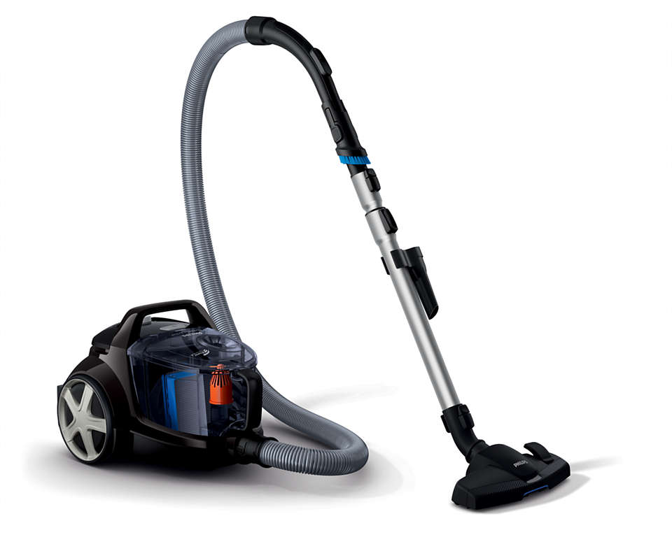 High suction power with PowerCyclone 4
