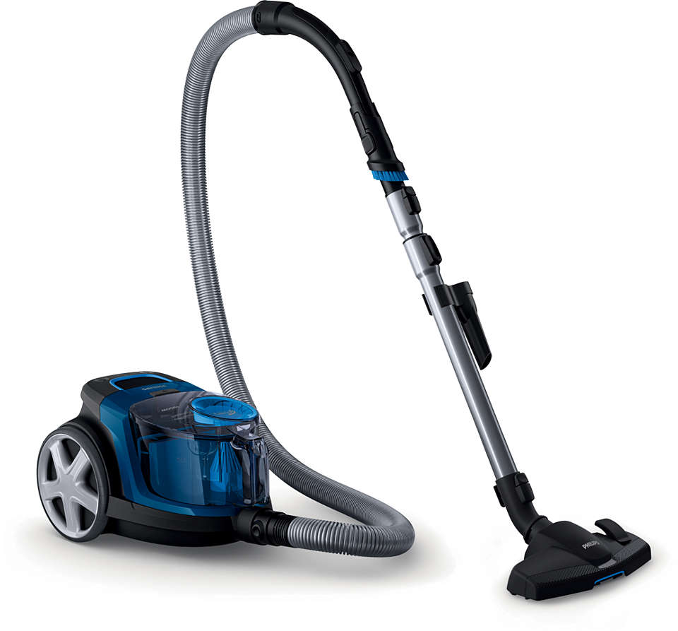 Higher suction power* with PowerCyclone 5