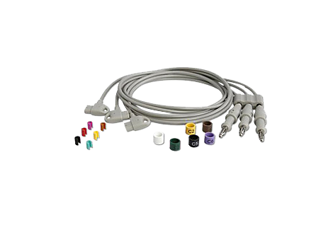 Long Chest Lead Set Diagnostic ECG Patient Cables and Leads