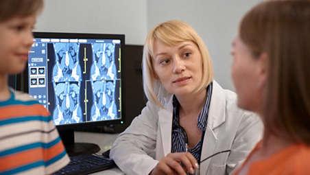 Veja mais detalhes em uma grande variedade de pacientes