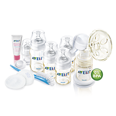 SCD277/00 Philips Avent Kit de solutions d'allaitement