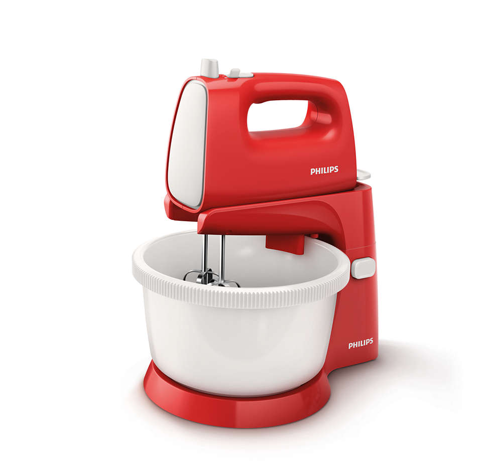 Powerful and efficient mixing for fluffy cakes