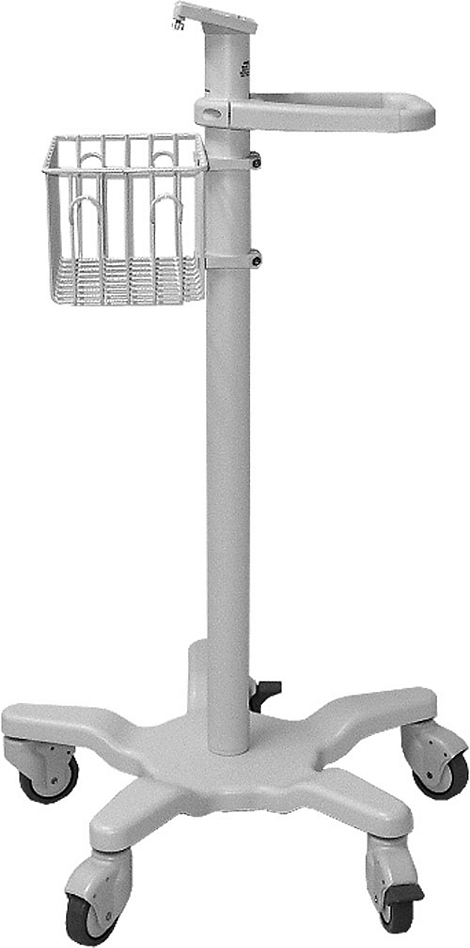SureSigns rollstand with mounting plate Mounting and stands