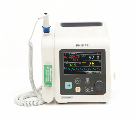 SureSigns VS2+  Vital signs monitor