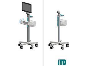 IntelliVue MX800 ITD RollStand Mounting solution