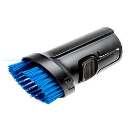 Replacement brush for integrated brush