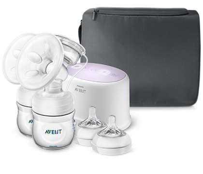 More comfort, more milk