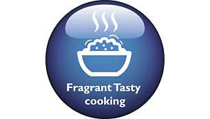 Fragrant Retention Valve to lock original tasty Rice