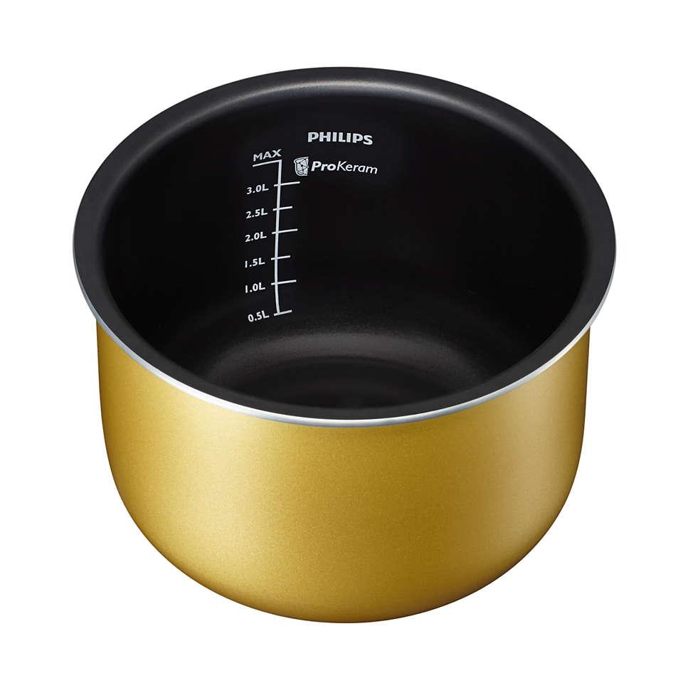Cuve pour de délicieuses soupes et de nombreux autres plats