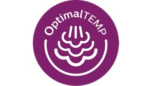 OptimalTEMP technology, no temperature settings required