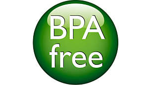 هذه الرضّاعة خالية من مادة BPA*