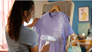 No ironing board needed! Save time and hassle!