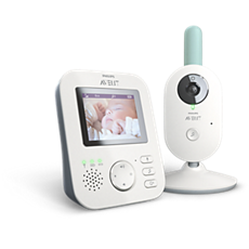 SCD620/01 Philips Avent Baby monitor Monitor para bebés con video digital