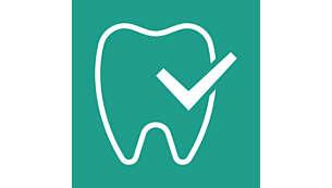 Respeita o formato natural do palato, dos dentes e das gengivas