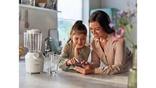 Descargue la aplicación NutriU para disfrutar de sus platos favoritos, sabrosos y saludables