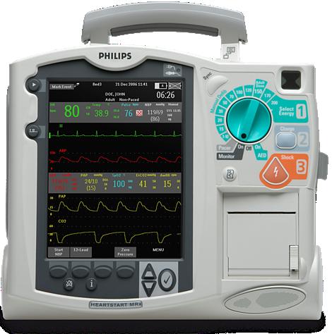 HeartStart MRx Desfibrilhador/monitor