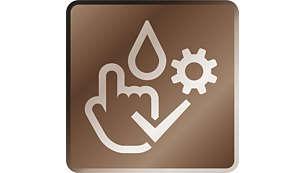 System czyszczenia i konserwacji za pomocą trzech kliknięć