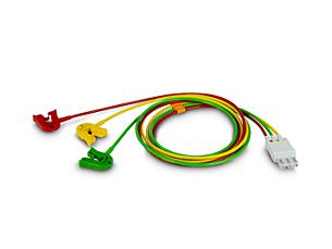 Cbl 3-lead Grabber IEC ICU