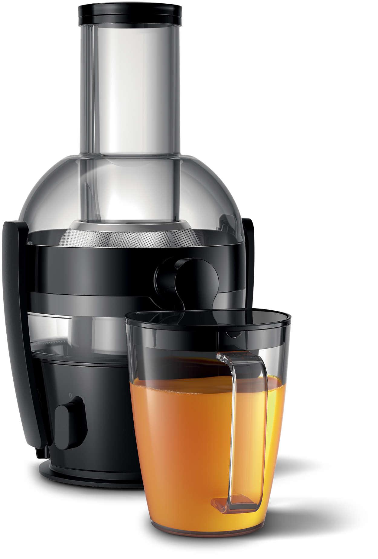Столько же сока, сколько из соковыжималки дороже 20000 рублей.