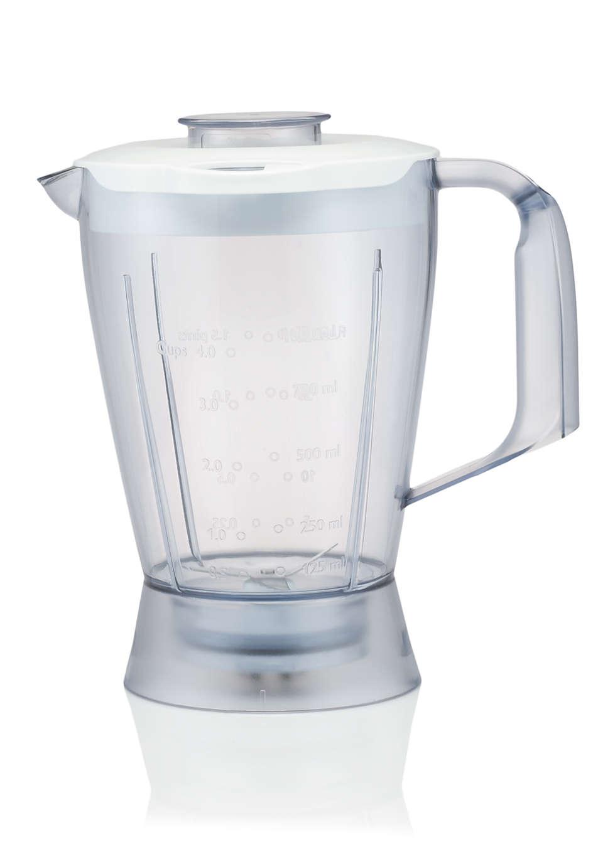 Mixbecher für Ihre Küchenmaschine