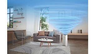 Vysoký výkon vhodný pro místnosti orozloze až 39 m²