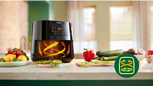 Healthy frying with Rapid Air technology