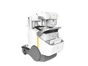MobileDiagnost wDR Мобильная цифровая рентгеновская система с  выдвижной колонной