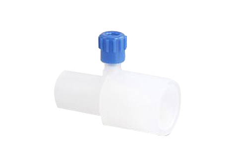 Airway adapter, straight Capnography, Anesthesia Gas