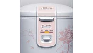 自动保温设置,让米饭 12 小时内持久保鲜