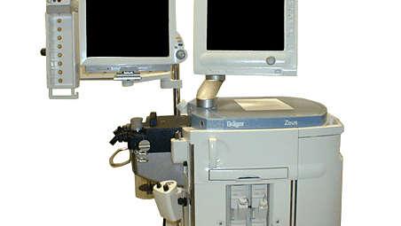 IntelliVue MP60/70: Draeger Zeus Pivot Arm Mounting Kit