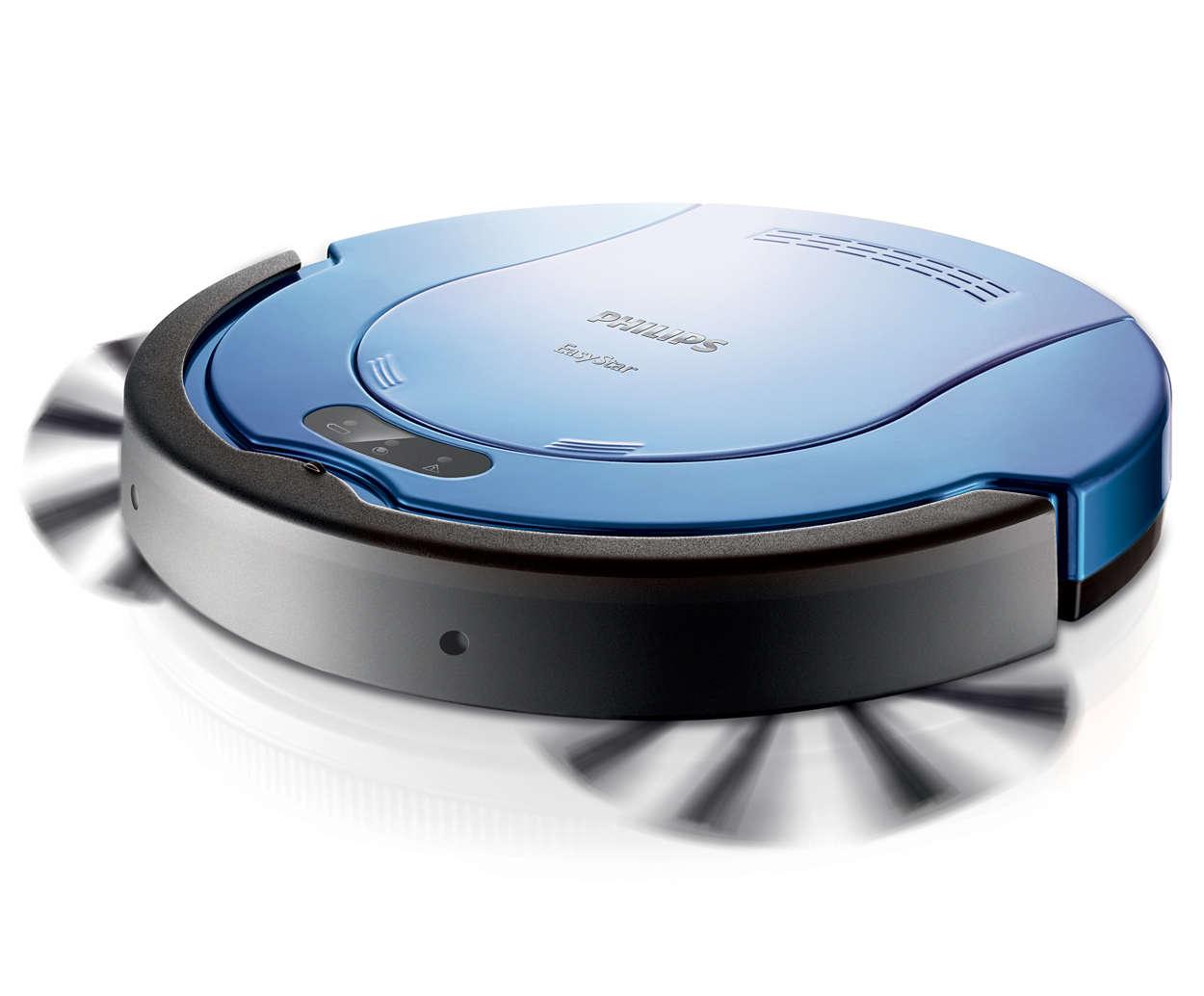 The slimmest robot vacuum cleaner